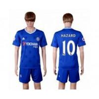 Buy cheap 16-17 Chelsea No.10 Hazard Home Soccer Jersey & Short from wholesalers