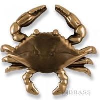 Quality Michael Healy - Bronze Blue Crab Door Knocker for sale