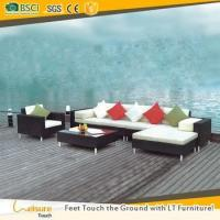 Buy cheap Foshan rattan outdoor sofa set manufacturer cane patio sectional sofa furniture for garden from wholesalers