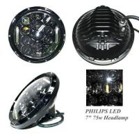 Buy cheap 7inch 6750lm 75W High Low Beam Car LED Headlight from wholesalers