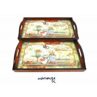 Buy cheap bamboo utensils WOODEN TRAY 216H240P3A S-2 from wholesalers