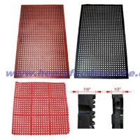 """Quality Rubber Floor Mats,Black Anti-Fatigue 3/8"""" Thickness, 3' x 5'(915x1525mm) for sale"""