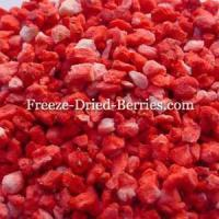 China Freeze Dried Strawberries (Diced) on sale