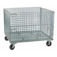 Quality Wire Container with Casters Wire Container with Casters Improve Logistics Efficiency for sale