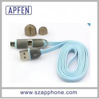 China 2 in 1 USB Cable Multi USB Cable Charging and Date Sync USB Cable for All Smartphone on sale