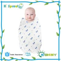 Quality Baby Swaddle Wrap Muslin Cotton Baby Blankets for sale