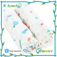 Quality Breathable Cotton Muslin Swaddle Blanket for sale