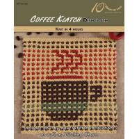 Quality KNITTING PATTERNS COFFEE KLATCH Dishcloth for sale