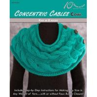 Quality KNITTING PATTERNS CONCENTRIC CABLES Cowl for sale