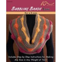Quality KNITTING PATTERNS BUBBLING BANDS Cowl for sale