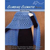 Quality KNITTING PATTERNS CLIMBING CLEMATIS Shawl for sale