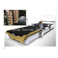China Polar Fleece Fabric Swatch Cutter Straight Knife Cutting Machine 7900 * 2600 * 2000mm on sale