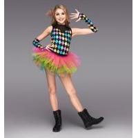 Buy cheap kids multicolored tutu dress all in one -adult leotard above knee dancing skirt-cheap price from wholesalers
