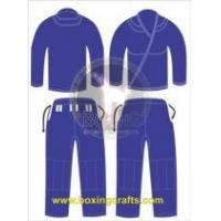Quality BJJ GI BLUE BJJ GOLD WEAVE UNIFORM for sale