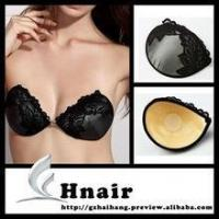 China Adhesive lace bra invisible silicone cloth bra self adhesive strapless bra on sale