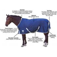Buy cheap 1800D / 1200D / 600D Fabric used for horse rug & horse blanket from wholesalers
