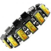 Quality Religious Hematite Magnetic Bracelet for sale