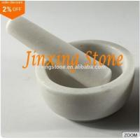 Quality Hot Sale White Marble Mortar and Pestle Set, Herbs&Spices Grinder, Kitchenware Tool for sale