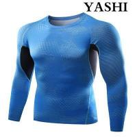 Buy cheap Uniform Dt5005 Men′s Compression Shirt Sport Top Fitness Gym T-Shirt from wholesalers
