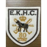 Quality Cloth Embroidered Badges Label Iron on Sewing Patches For Jackets for sale