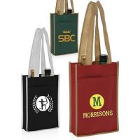 Buy Two Bottle Non-Woven Wine Bags at wholesale prices