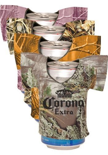China Realtree Camo Jersey Shirt Can Coolers