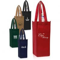 Buy Vineyard One Bottle Personalized Wine Bags at wholesale prices