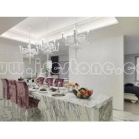 Buy cheap Interior application Calacatta white marble Interior Projects from wholesalers