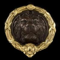 Quality LION'S HEAD DOOR KNOCKER C1-0001-1M for sale