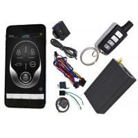 Gps Auto Tracking Vehicle Security Alarm System 12V / 24V Mobile App Central Lock Or Unlock