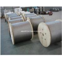 Buy cheap 7X19 4.52mm Stainless Steel Strand Wire Rope And Cable product