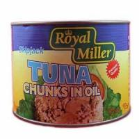 Quality Canned Mushrooms Tuna Chunk In Oil - Royal Miller 6x1.88kg for sale