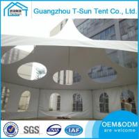 Pagoda Tent Low Cost Easy To Assemble Galvanized Steel Frame Tension Tent Pavilion tent
