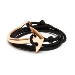 China Fashion Jewelry Rose Gold Alloy Half Anchor Antique Watch Vintage Mens Accessories Bracelet Mens Rop