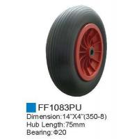 Rubber wheel/PU Foam Wheel FF1083PU