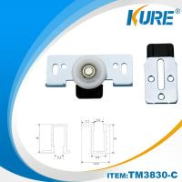 Buy cheap cabinet nylon sliding door roller wheel system from wholesalers