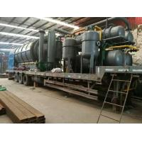 Buy cheap Quick Installation Type Waste Plastic Pyrolysis Disposal To Oil Machine from wholesalers