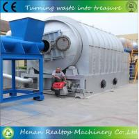 Buy cheap Waste Tyre Pyrolysis to Oil Plant from wholesalers