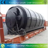 Buy cheap Waste Rubber Recycling Pyrolysis to Fuel Machine from wholesalers