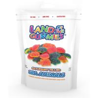 Buy cheap Gourmet Filled Gummy Sea Animals 7oz Stand Up Pouch from wholesalers