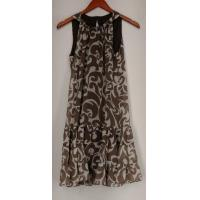 Quality aDRESSing Woman Dress S Sleeveless Halter Neck Beige NEW NWOT for sale