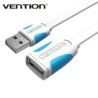 Quality Vention Flat USB 2.0 USB Extender Cable For PC Laptop for sale
