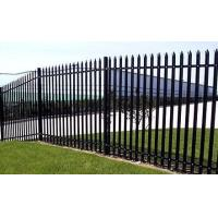 Buy cheap Black Steel Security Fence product