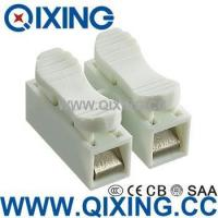 Quality Two Phase10a 400v Double Wire Connector with White Color for sale