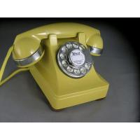 Quality 302 - Yellow - Chrome Trim Antique Phones for sale