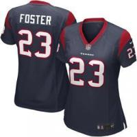 Quality Nike Arian Foster Houston Texans Women's Navy Blue Game Jersey for sale
