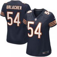 Quality Nike Brian Urlacher Chicago Bears Women's Navy Blue Game Jersey for sale