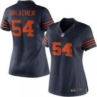 Quality Nike Brian Urlacher Chicago Bears Women's Navy Blue Alternate Limited Jersey for sale