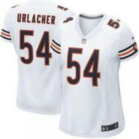 Quality Nike Brian Urlacher Chicago Bears Women's White Game Jersey for sale