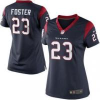 Quality Nike Arian Foster Houston Texans Women's Navy Blue Limited Jersey for sale